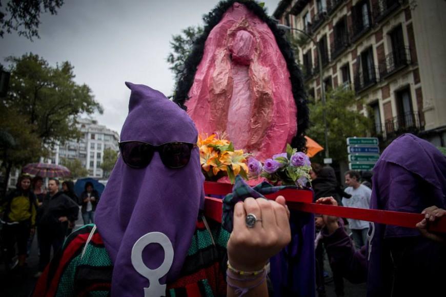Foto del Facebook de la Cofradía del Santísimo Coño de todos los Orgasmos