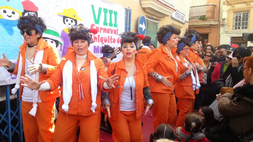 Las Talegueras, chirigota callejera ilegal de mujeres del Carnaval de Cádiz que denuncia desde el feminismo