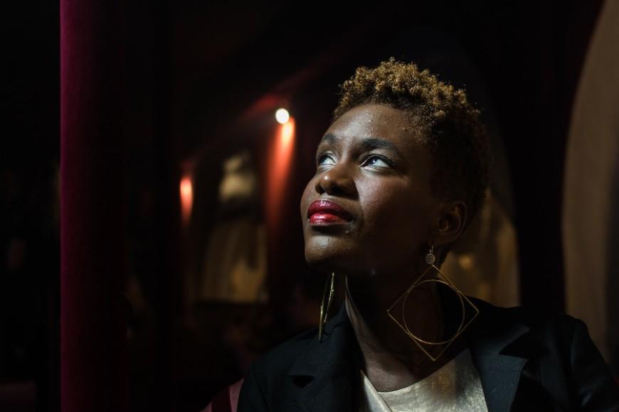 La periodista y militante afrofeminista Rokhaya Diallo./ Teresa Suárez