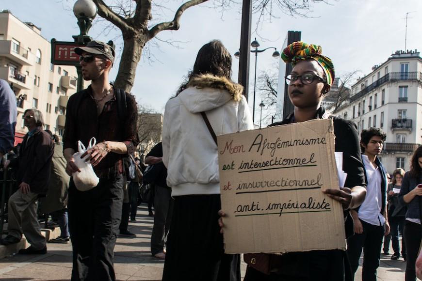 Manifestación por el día internacional de los derechos de las mujeres organizado por el colectivo 8 Mars pour Toutes./ Teresa Suárez