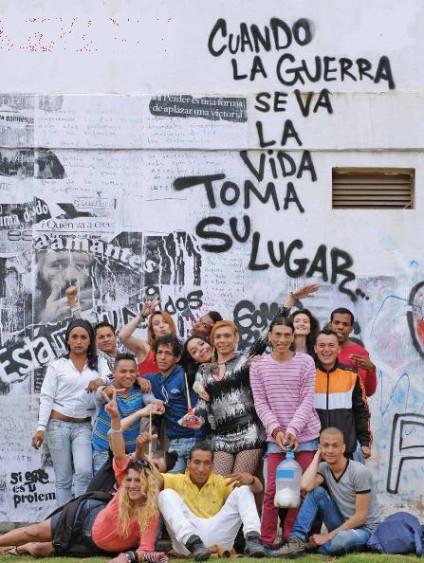 Foto de Colombia Diversa, organización LGTBI que ha liderado la defensa de sus derechos en los Acuerdos