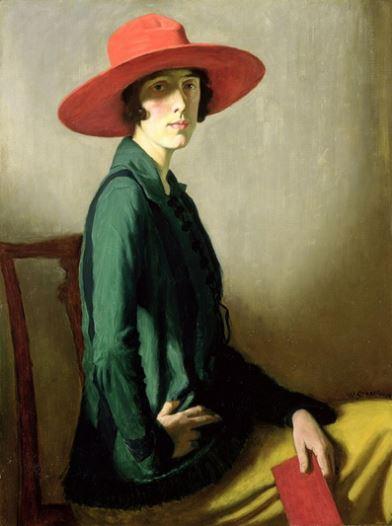 Vita Sackville-West, retratada por William Strang.