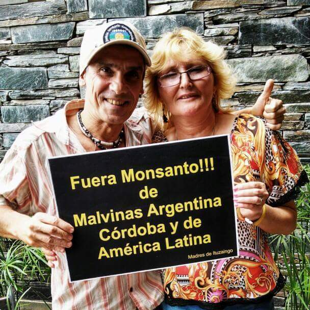 Manu Chao y Sofía Gatica. / Foto de redes sociales