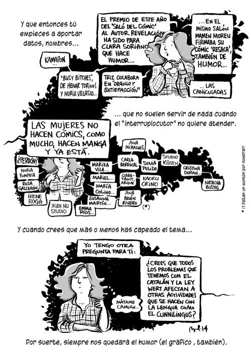 Historieta de Raquel Gu