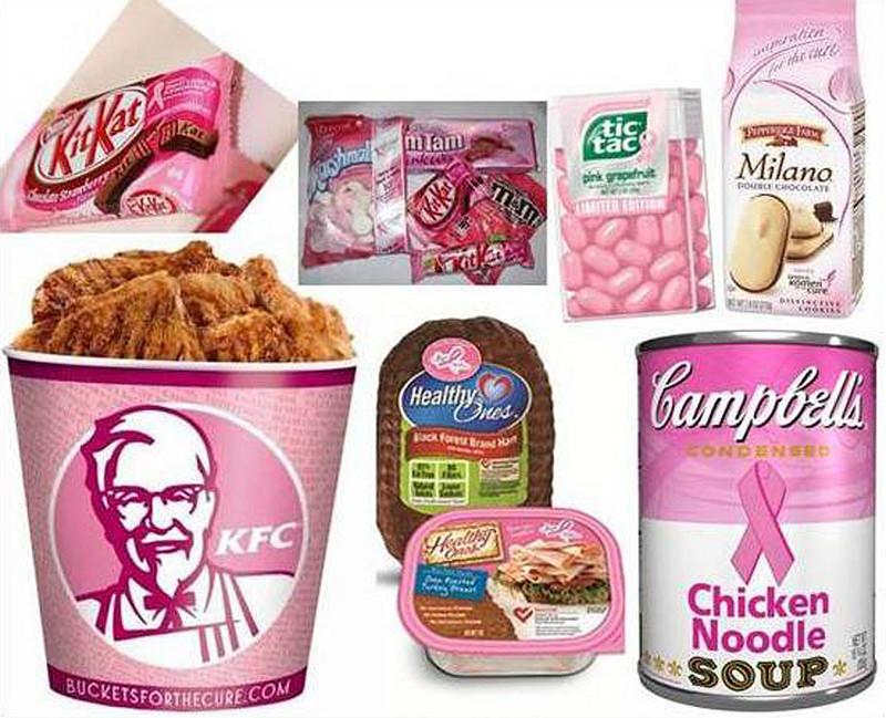 Famosos productos americanos que son símbolo del capitalismo con envase rosa
