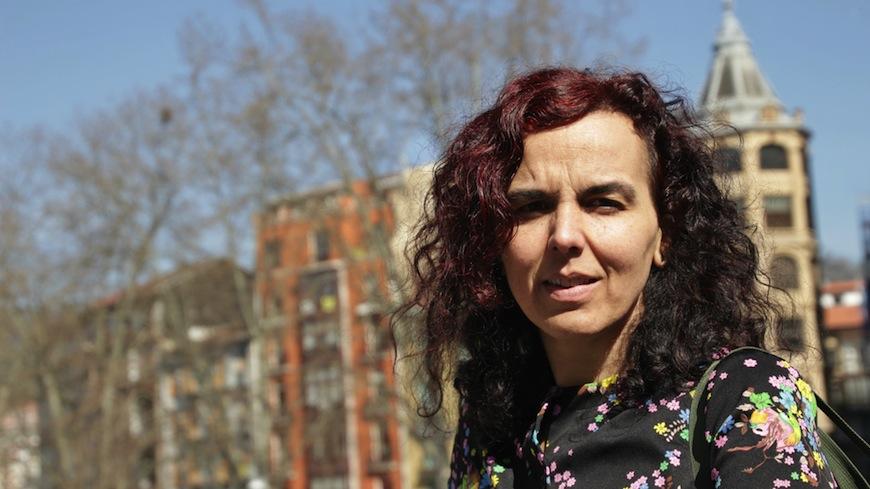 Silvia Nanclares presentó recientemente su novela en Bilbao./ Helena Bayona