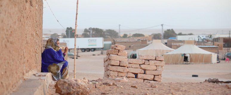 Una imagen de los campamentos saharauis. / Foto: Lucía Muñoz