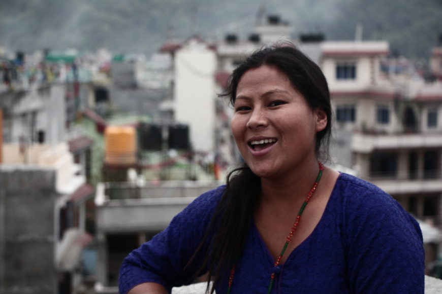 Susma Tamang. / Fotos: Miradas en la frontera