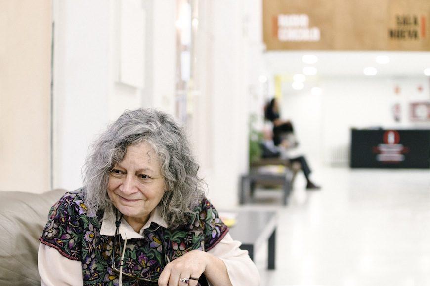 Rita Segato en el Círculo de Bellas Artes de Madrid./ Laura Carrascosa Vela