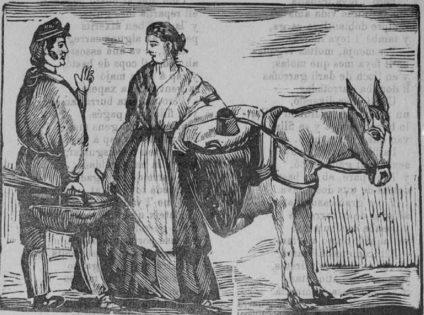 Gitanos valencianos del siglo XIX. / Cedida Archivo FAGA