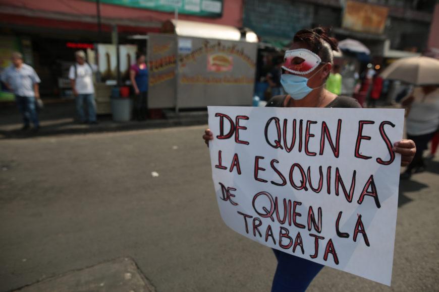 Acción de Brigada Callejera. / Foto: Cedida