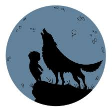 La niña y la loba. / Emma Gascó
