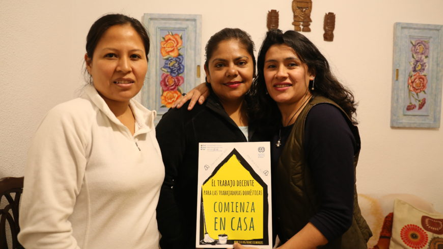 Mujeres del colectivo Nosotras. / Foto: Lucía Muñoz