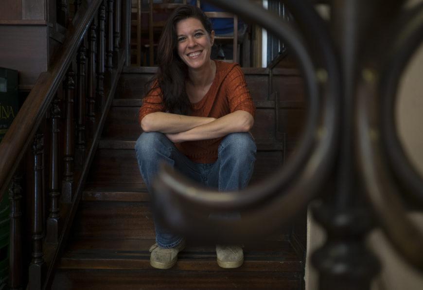Mónica G. Prieto. / Foto: Javier Bauluz