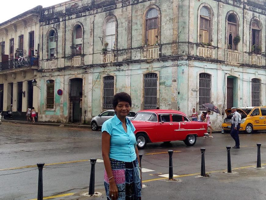 Teresa Lara en La Habana