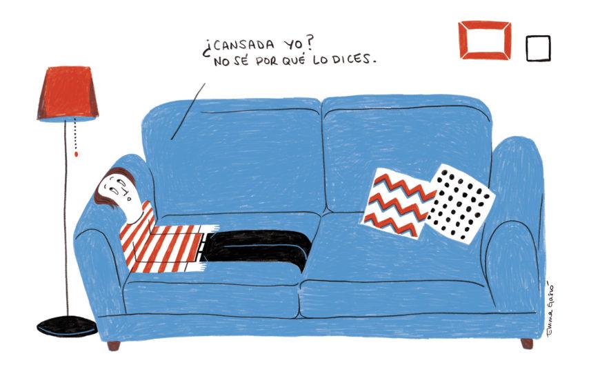 Cansada. Por Emma Gascó