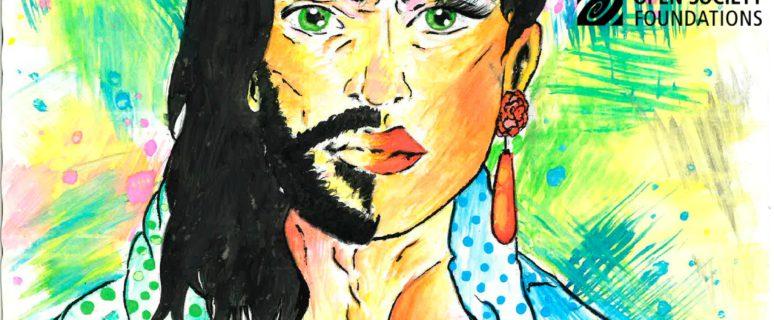 Cartel del congreso feminista que prepara la AGFD y que está siendo contraprogramado