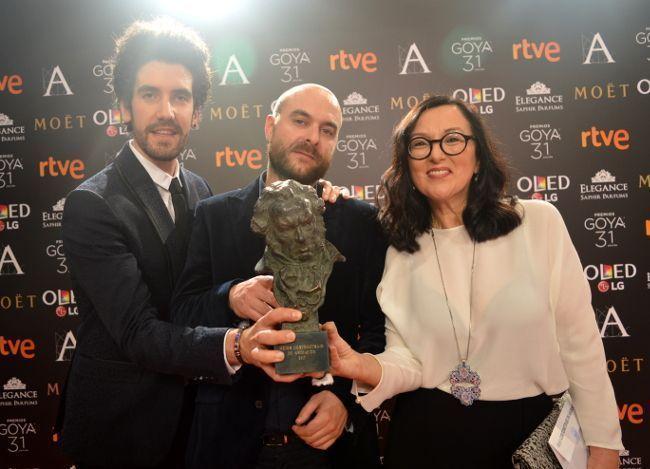Loureiro participó en la producción del cortometraje de animación ganador del Goya este año.