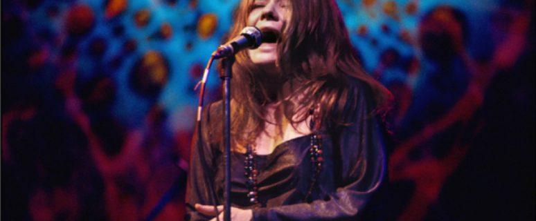 Janis Joplin durante un concierto en Nueva York en abril de 1969./ Elliot Landy