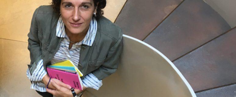 Marina Garcés, fotografiada por María Teresa Slanzi para Anagrama.