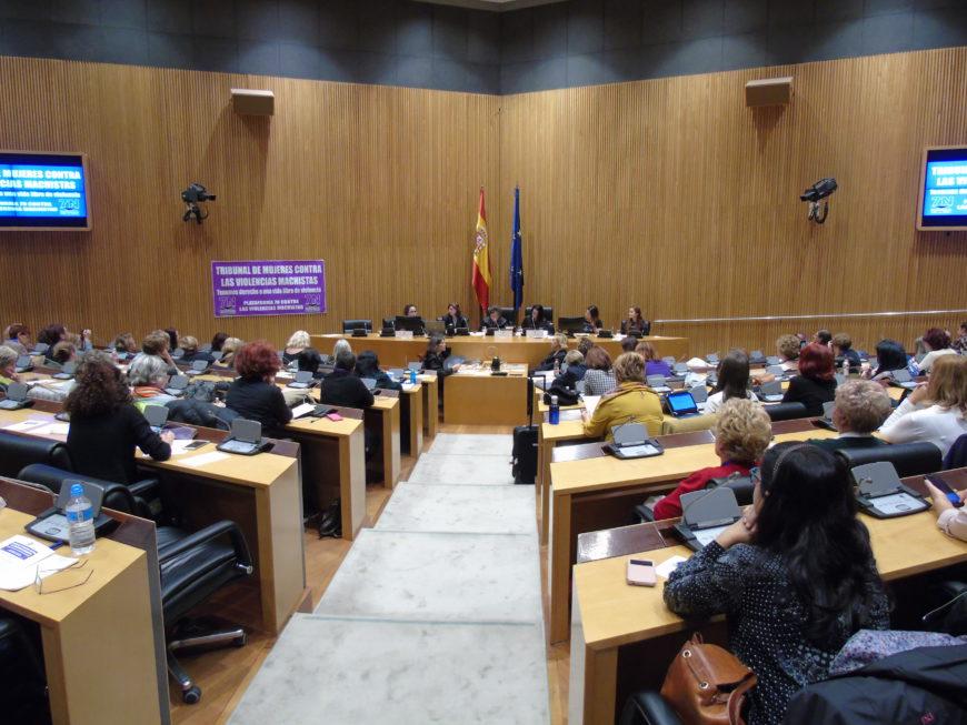 El Tribunal de Mujeres se celebró en el Congreso. / Foto: Silvia Fernández de Cañete