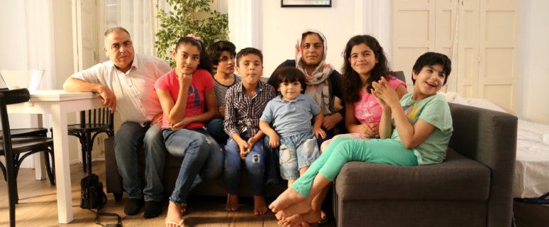 La familia Moro ha sido reubicada en Andalucía. / Foto: Lucía Muñoz