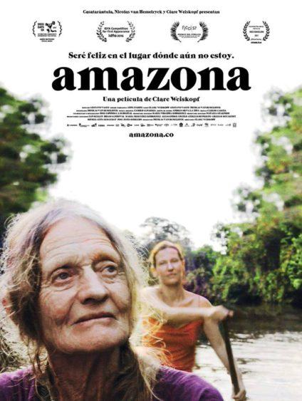 Cartel del largometraje 'Amazona'.