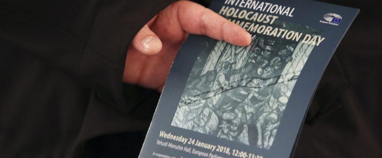 Conmemoración del Día del Holocausto 2018 en el Parlamento Europeo. / Foto: Didier BAUWERAERTS. © European Union 2018