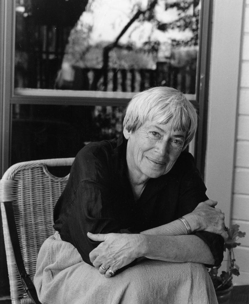 Ursula Le Guin: Retrato de Ursula Le Guin en 2009./ Marian Wood Kolisch