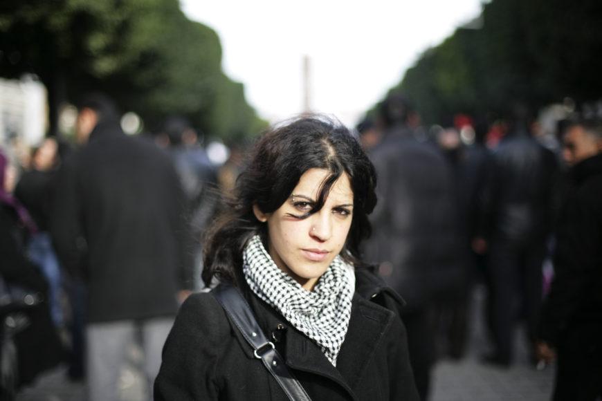 Lina Ben Mhenni. / Foto: Cedida