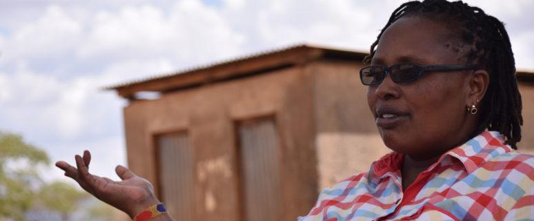 Lucy Yepe Itore, directora de la escuela IlBissil. / Foto: Domitilla Delpivo