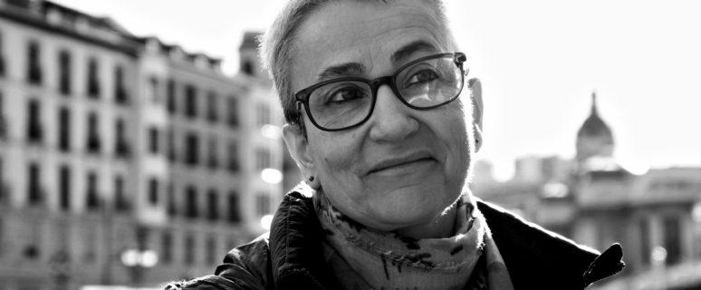 Marta Macho, en Bilbao. / Foto: Helena Bayona.