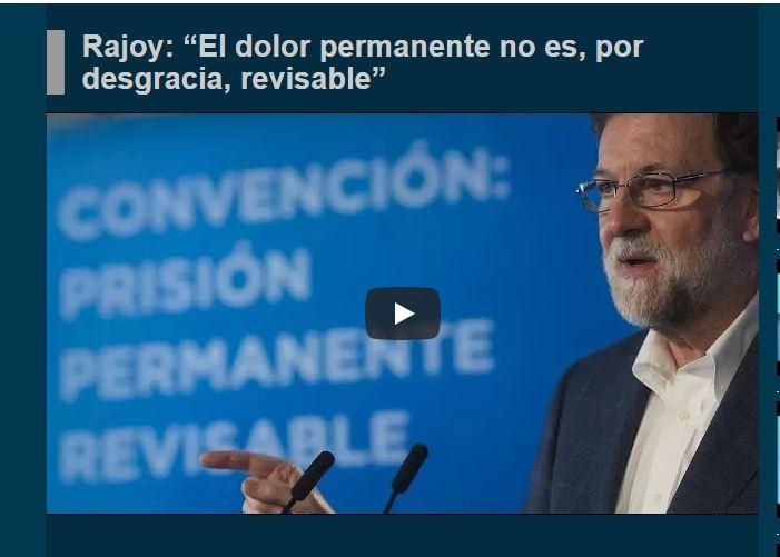 El Partido Popular y el Gobierno han puesto en marcha una campaña de marketing. / Imagen extraída de la web del PP.