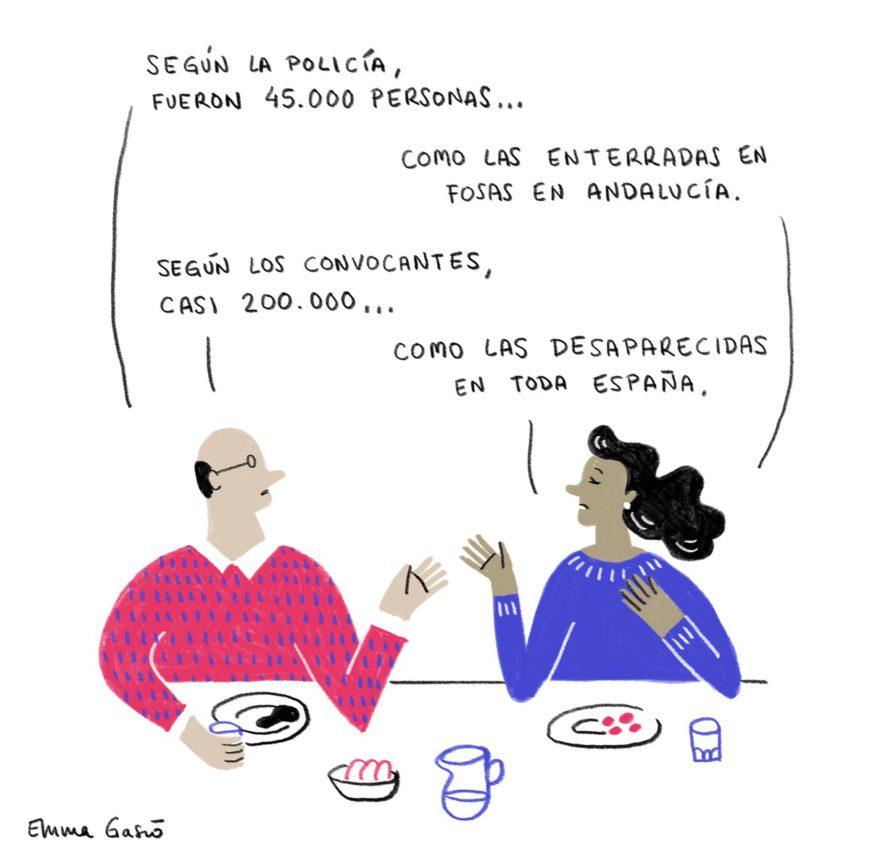 Viñeta de Emma Gascó para El Salto