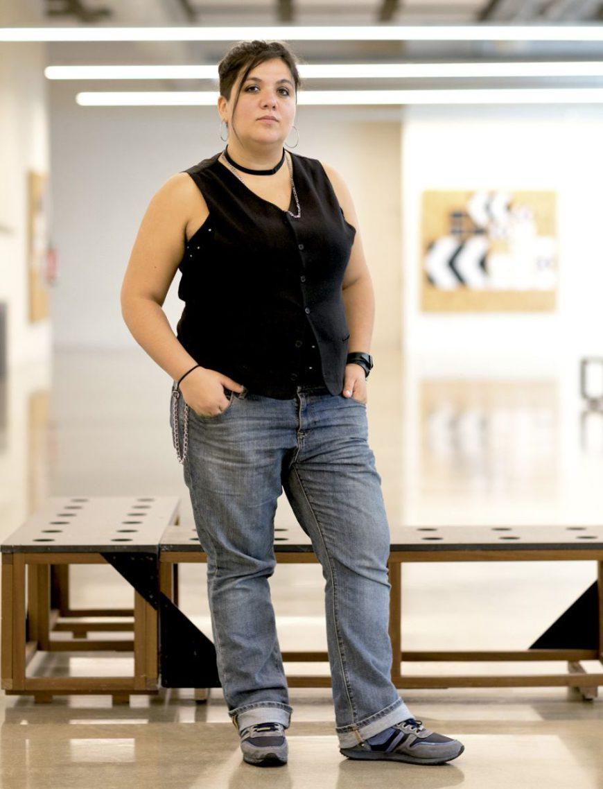 Masson se define como gorda en descolonización./ Dani Blanco para Argia