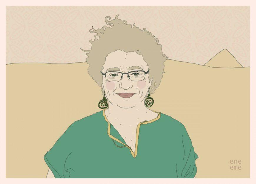 Gladys Giraldo, dibujada por ene eme