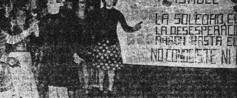 Fotografía publicada en la edición del 11 de noviembre de 1977 en 'El Correo Español'-J.I Fernández