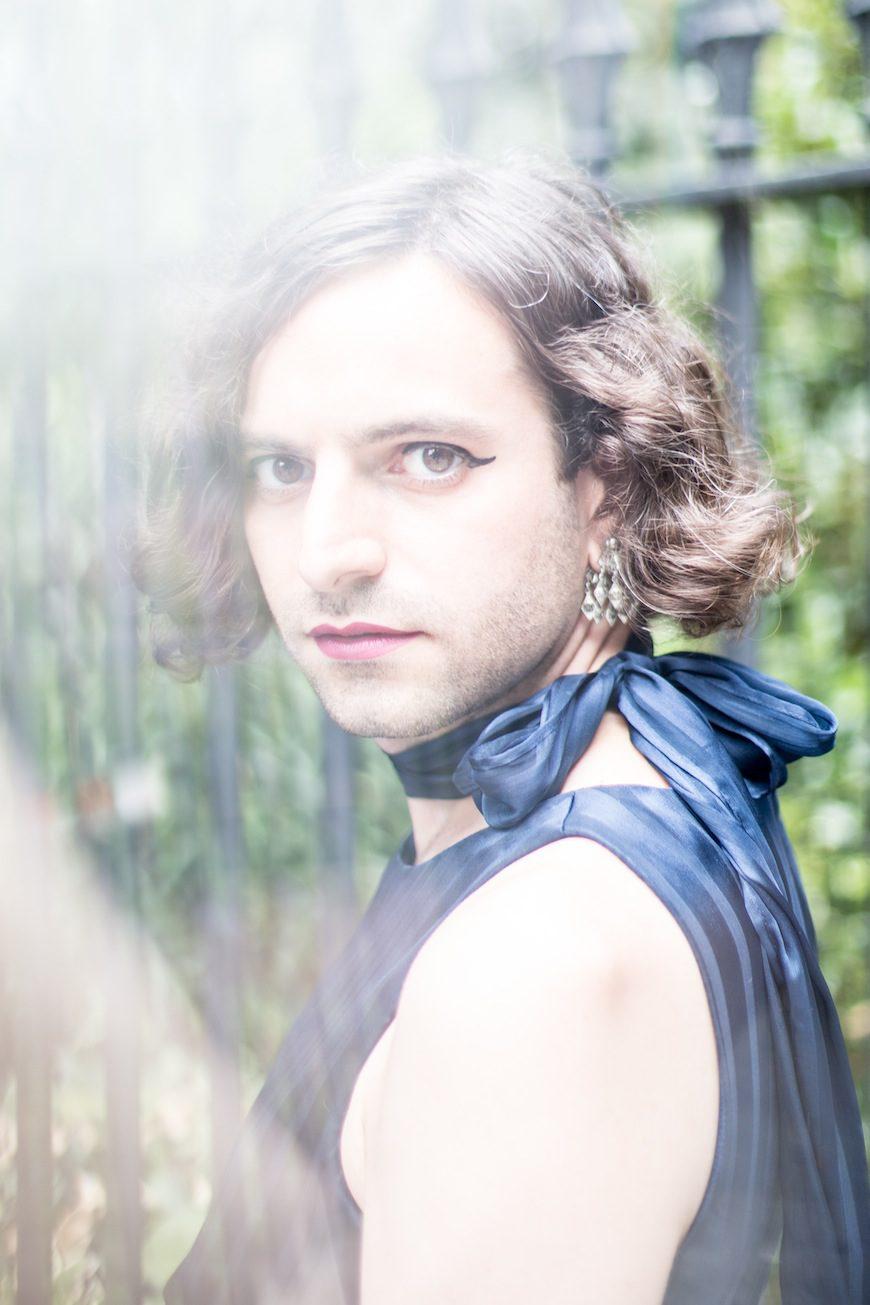 Jacob Tobia, en una fotografía de su archivo personal.