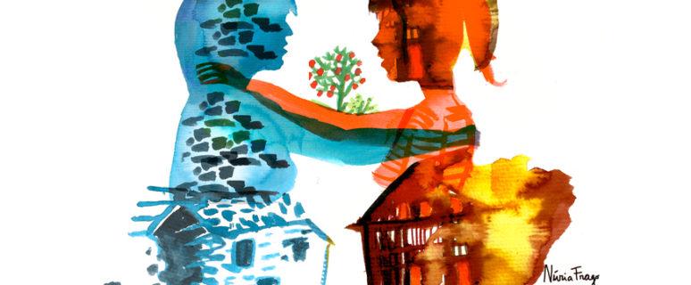 Ilustración de Núria Frago.
