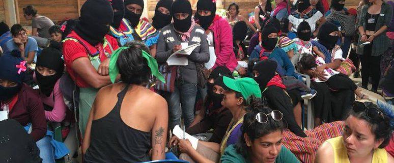 Una imagen del taller de internet feminista y seguridad digital./ Lulú Barrera