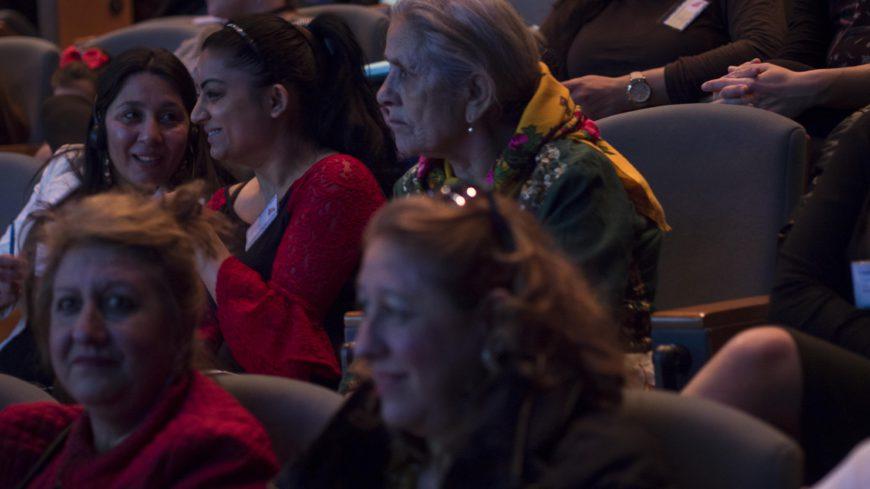 Imagen del público participante. / Foto: Alícia Fàbregas