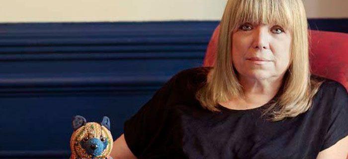 María Moreno en una foto de su archivo personal