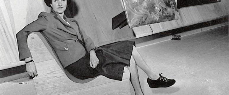 Peggy Guggenheim./ Fuente: guggenheim.com