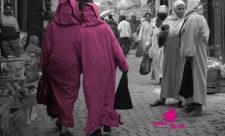 Mujeres marroquíes paseando