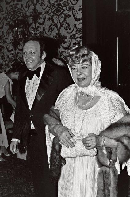 Ida Lupino en la convención de la Sociedad Nacional de Cine, en 1979./ Alan Light