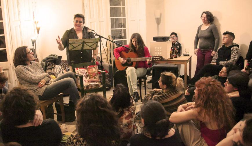 Txus aboga por reconocer todos los espacios de resistencia, no solo los de la burbuja feminista./ Pepa Vives