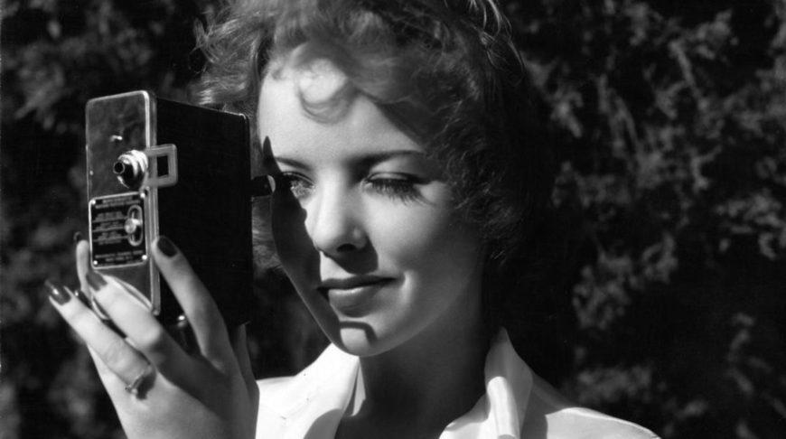 Ida Lupino en los años cuarenta.