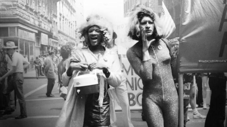 Masha P. Jonson y Sylvia Rivera en una imagen del documental 'The death and life of Marsha P. Johnson'