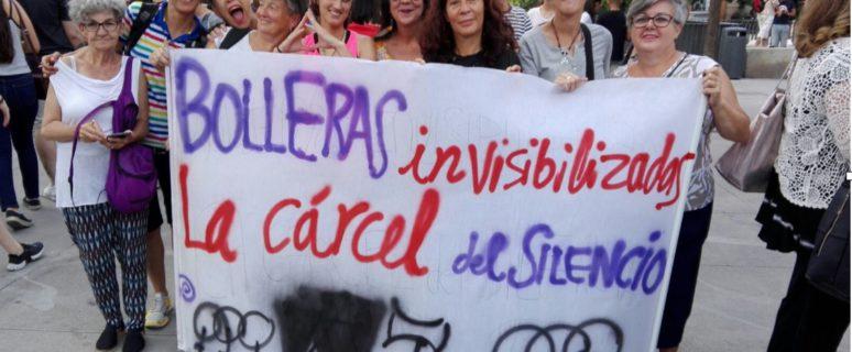 Grupo de bolleras en el Orgullo Crítico de Madrid, 2017.