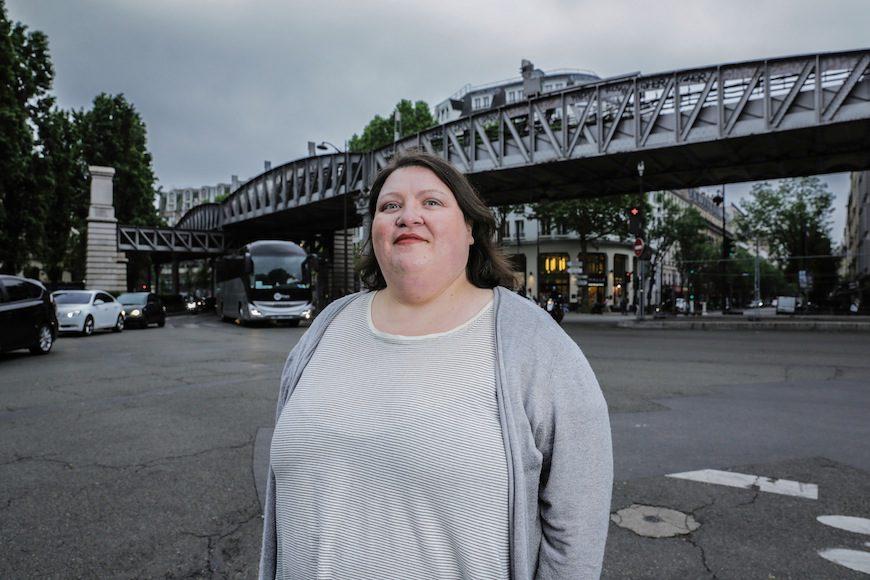 Gabrielle Deydier, autora de 'No se nace gorda'./ Teresa Suárez